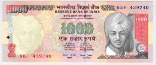 Millions of Indians wish to see Bhagat Singh's face on currencynotes